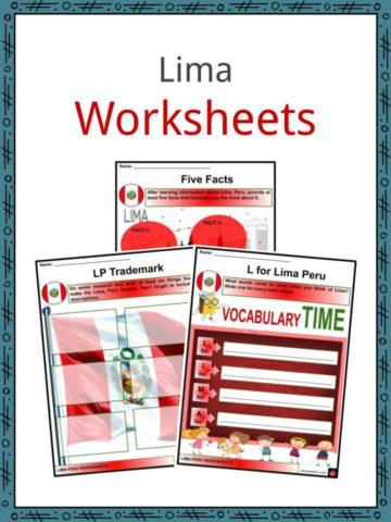 Lima Worksheets