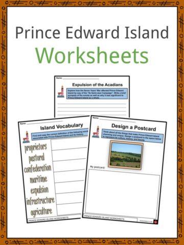 Prince Edward Island Worksheets