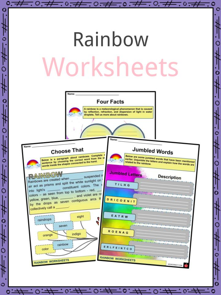 Rainbow Worksheet
