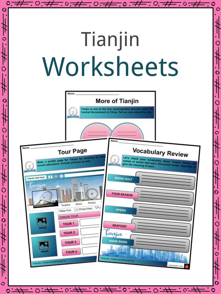 Tianjin Worksheets