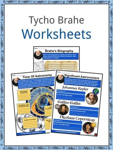 Tycho Brahe Worksheets