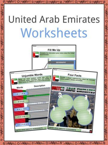 United Arab Emirates Worksheets