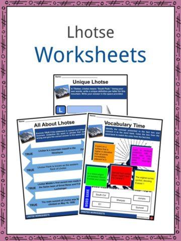 Lhotse Worksheets