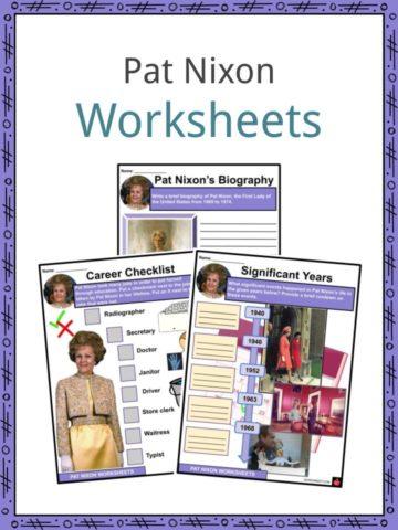 Pat Nixon Worksheets