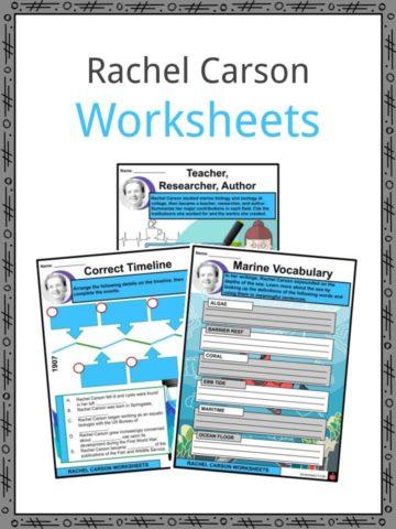 Rachel Carson Worksheets