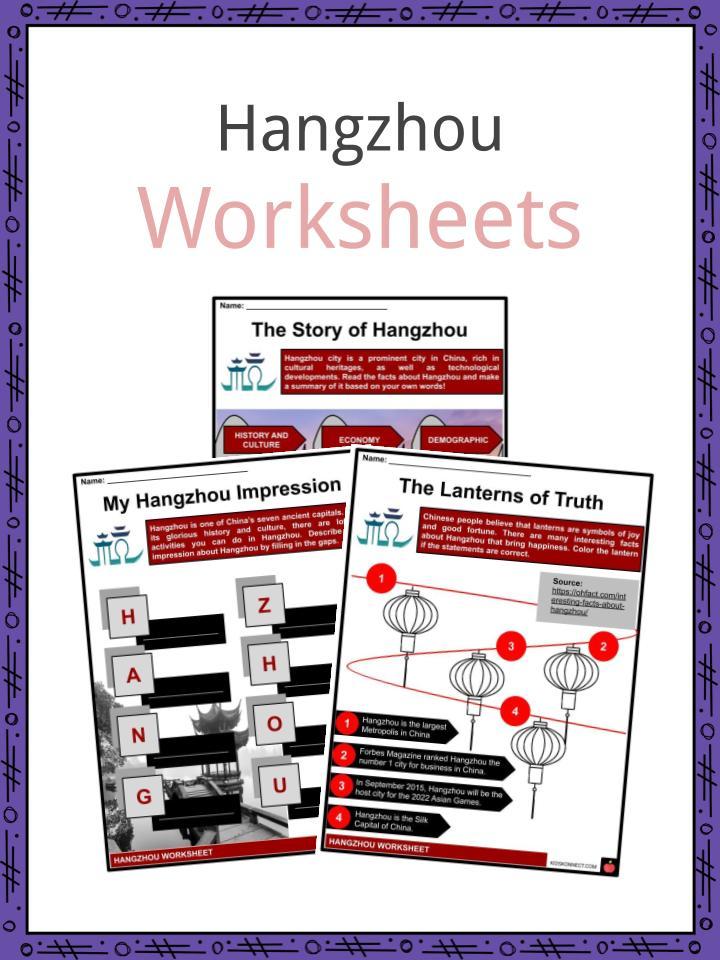 Hangzhou Worksheets