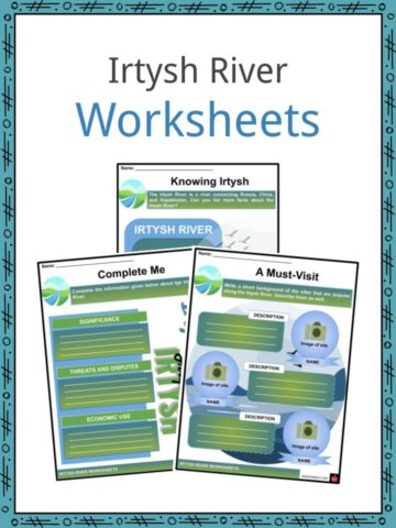 Irtysh River Worksheets