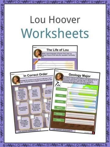 Lou Hoover Worksheets