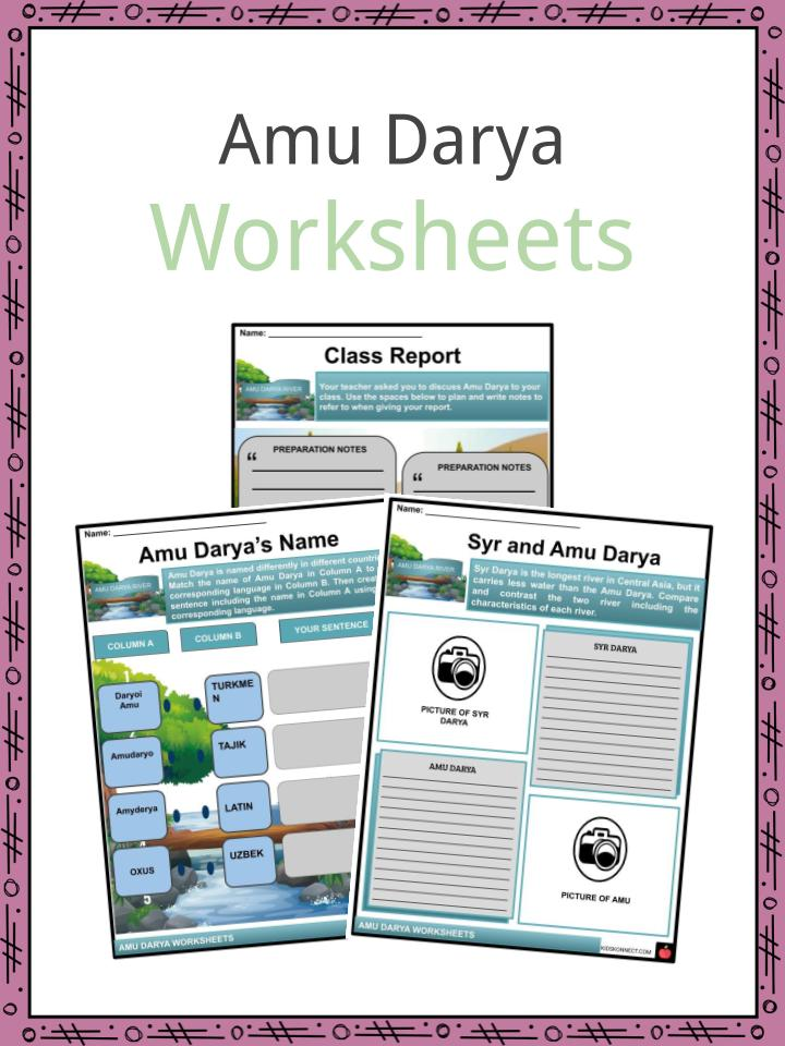 Amu Darya Worksheets