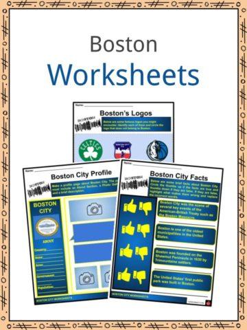 Boston Worksheets