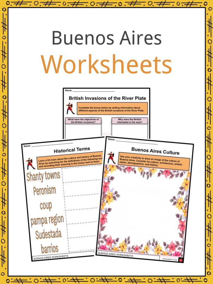 Buenos Aires Worksheets