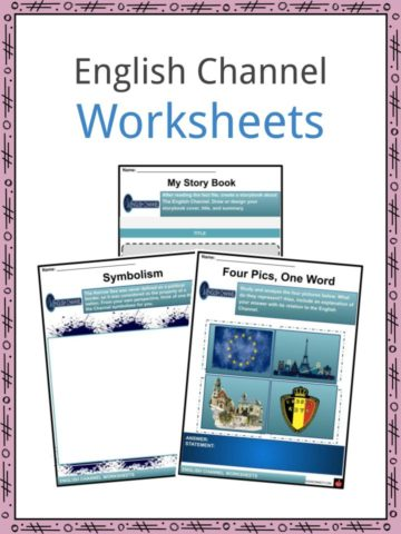 English Channel Worksheets