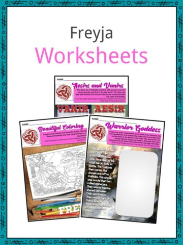 Freyja Worksheets