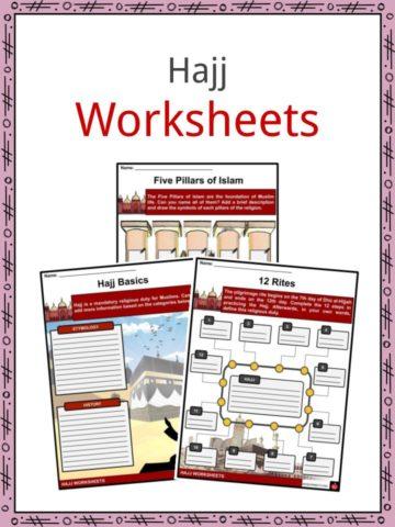 Hajj Worksheets