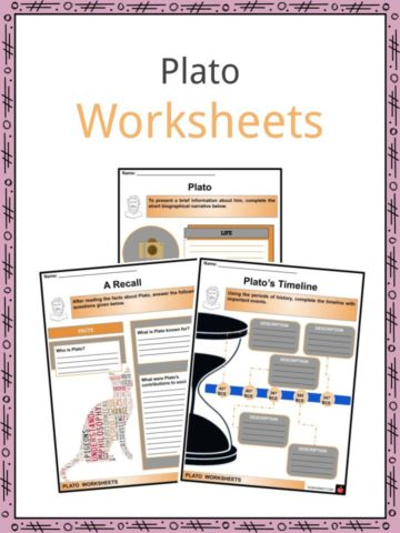 Plato Worksheets