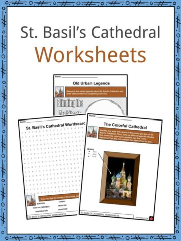 St. Basil's Cathedral Worksheets
