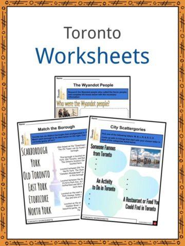 Toronto Worksheets