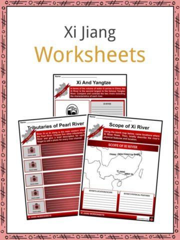 Xi Jiang Worksheets