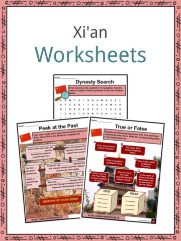 Xi'an Worksheets