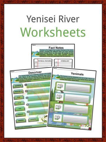 Yenisei River Worksheets