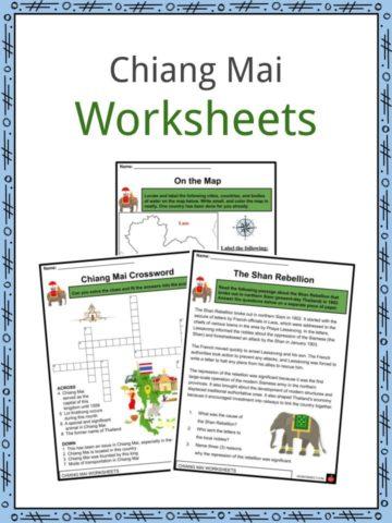 Chiang Mai Worksheets