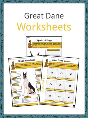 Great Dane Worksheets