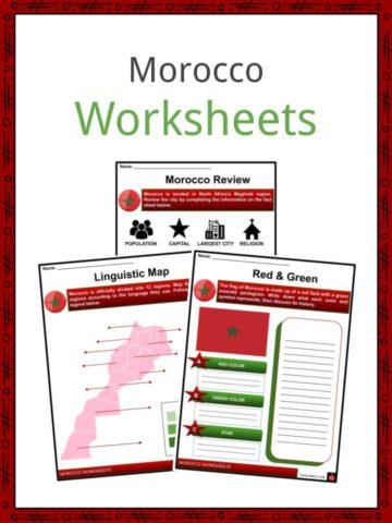 Morocco Worksheets