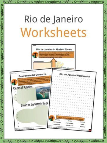 Rio de Janeiro Worksheets
