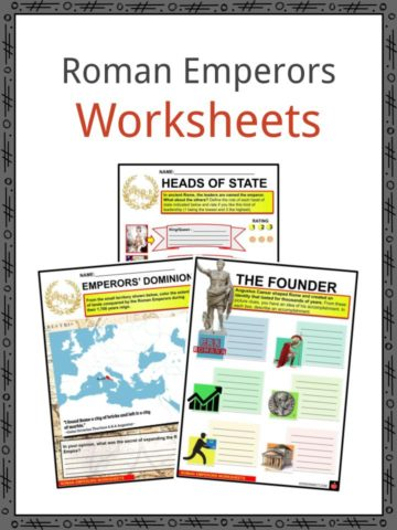 Roman Emperors Worksheets