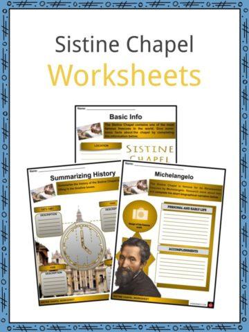 Sistine Chapel Worksheets