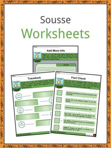 Sousse Worksheets