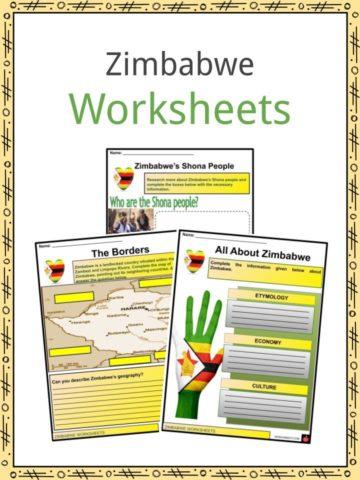 Zimbabwe Worksheets