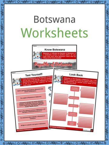 Botswana Worksheets