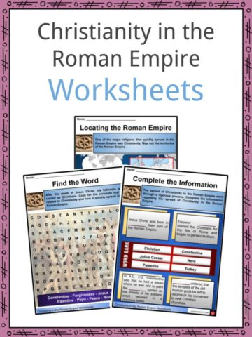 Christianity in the Roman Empire Worksheets