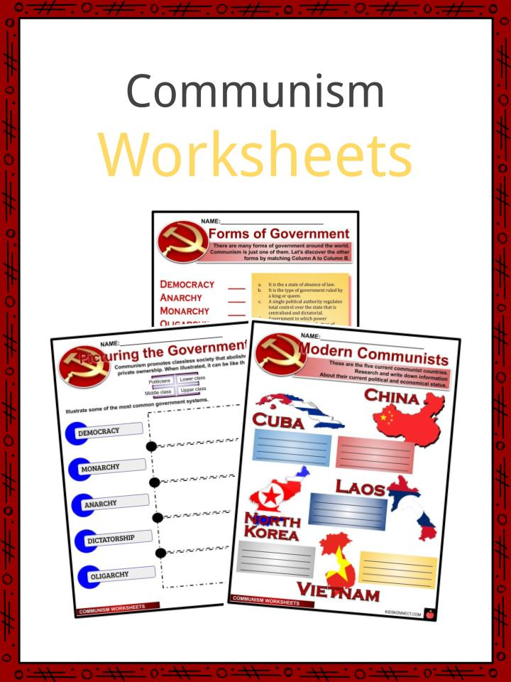 Communism Worksheets