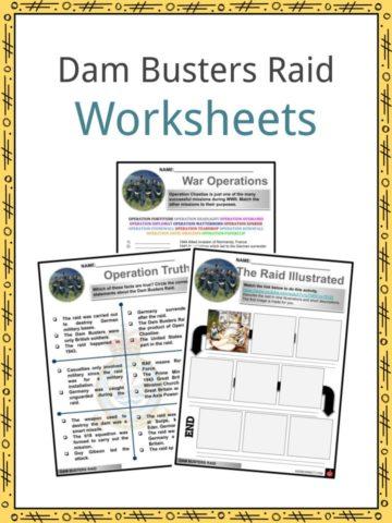 Dam Busters Raid Worksheets