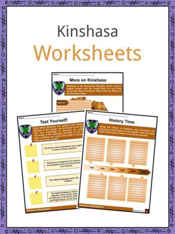 Kinshasa Worksheets