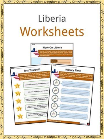 Liberia Worksheets