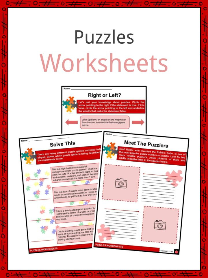 Puzzles Workseets