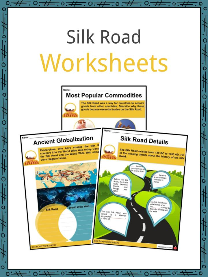 Silk Road Worksheets
