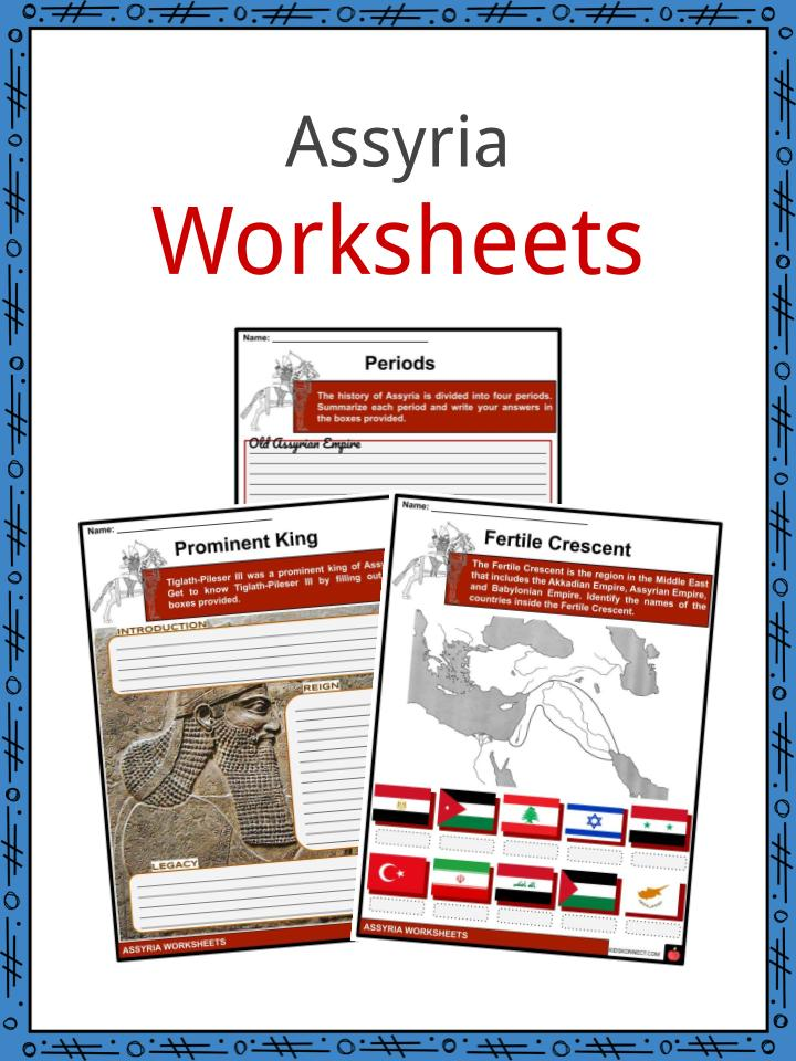 Assyria Worksheets