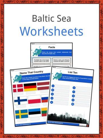 Baltic Sea Worksheets