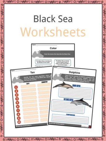 Black Sea Worksheets
