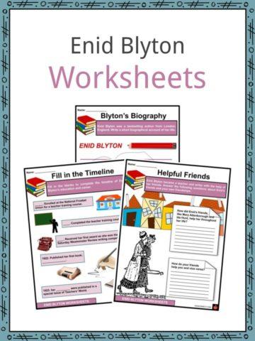 Enid Blyton Worksheets