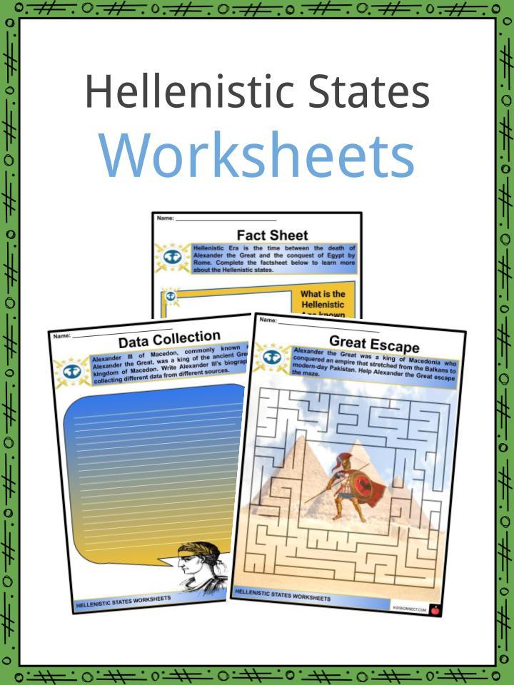 Hellenistic States Worksheets