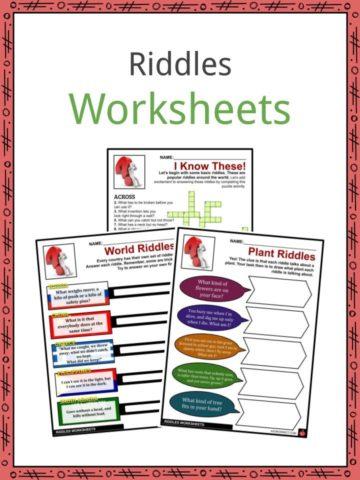 Riddles Worksheets