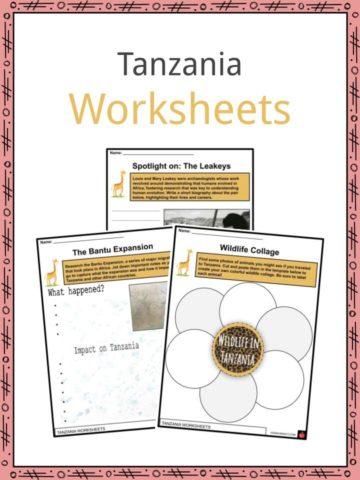 Tanzania Worksheets