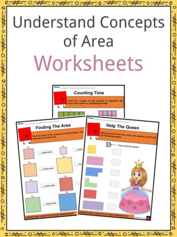 Understand Concepts of Area Worksheets