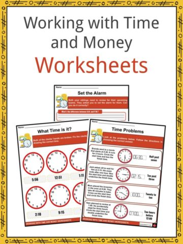 Working with Time and Money Worksheets