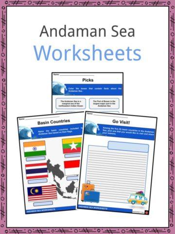 Andaman Sea Workheets